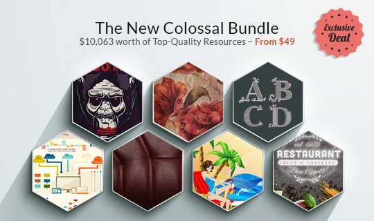 The New Colossal Bundle with $10,063 worth of Top-Quality Resources – From $49