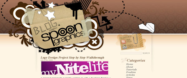 blogspoongraphics 10 cool websites for designers