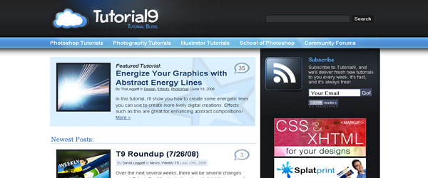 tutorial9 10 cool websites for designers