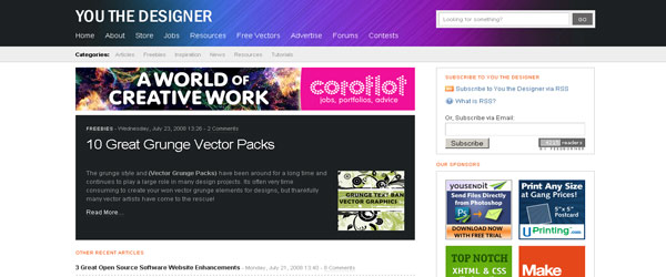 youthedesigner 10 cool websites for designers