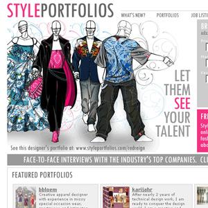 Fashion Design Portfolio Examples