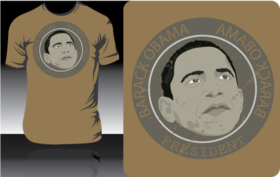 obama t shirt design4 Obama t shirt designs