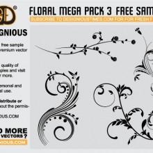 designious-floral-mega-pack-3-free-samples