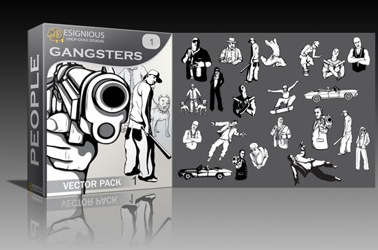 gangsters-vector