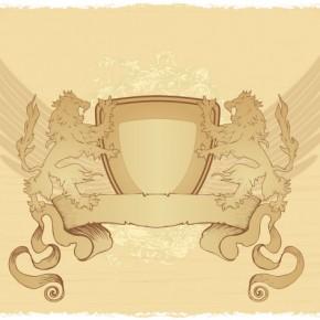 vintage-emblem-with-lions