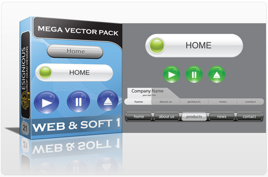 websoft mega pack 1 Web&soft vector packs and t shirt designs collection 3
