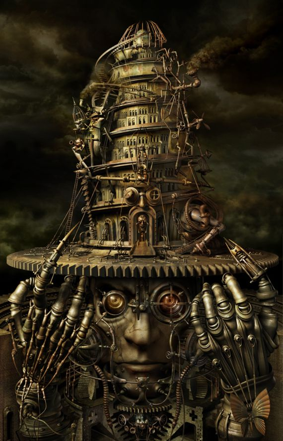 braintower1 Steampunk   An inspiration from clockworks