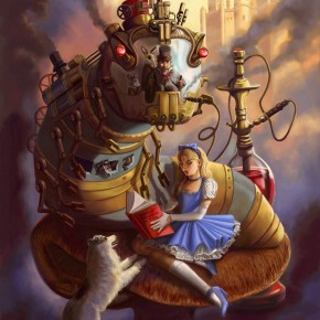 steampunk-alice-in-wonderland
