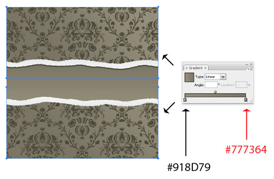 131 How to create a torn wall paper effect in Illustrator