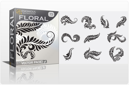 floral 73 silhouettes Vector freebies and premium: floral, wings and t shirts