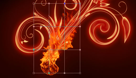 16 Tutorial: How to create a burning flower in Photoshop