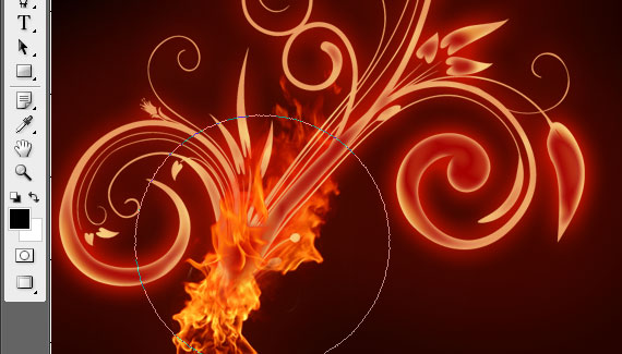 17 Tutorial: How to create a burning flower in Photoshop