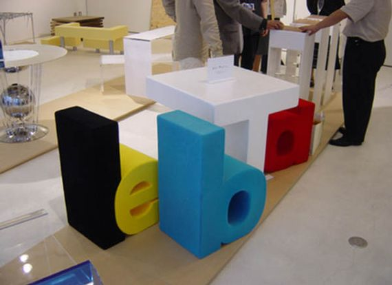 Kamiya Design Table1 Creative literal product designs