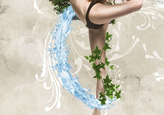 521 How to create a dynamic nature poster in Photoshop