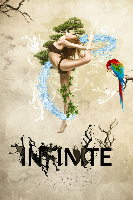 57.1 How to create a dynamic nature poster in Photoshop