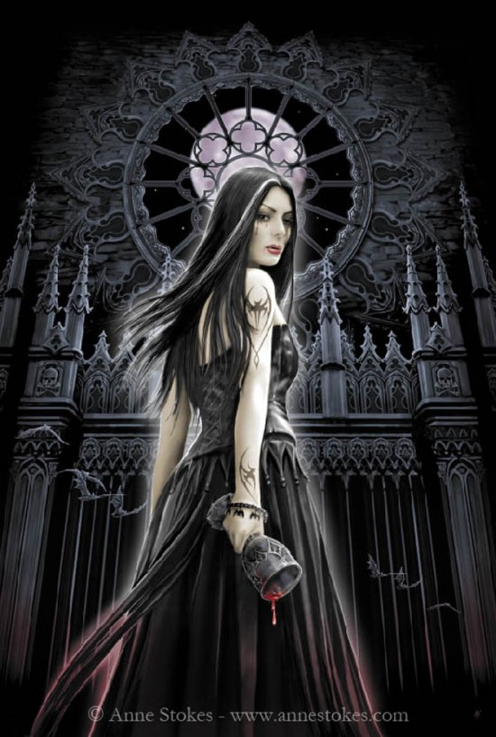 Gothic Siren by Ironshod 550x817 The Influence of Art History on Modern Design   Gothic Style