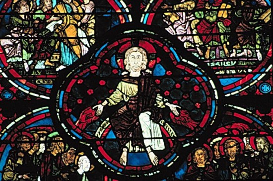 bourges glass11 550x364 The Influence of Art History on Modern Design   Gothic Style