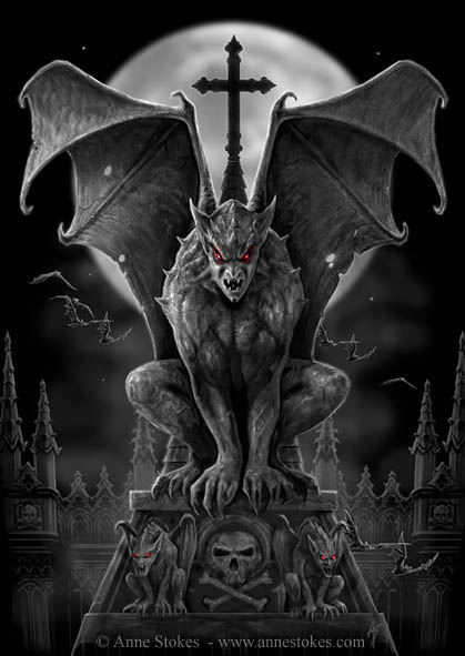 gargoyle The Influence of Art History on Modern Design   Gothic Style