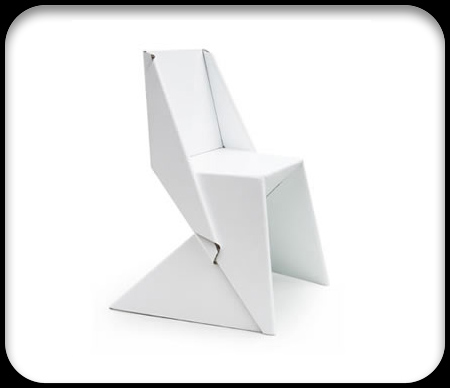 papton chairs origami cardboard seating 25+ Amazing Origami Inspired Designs