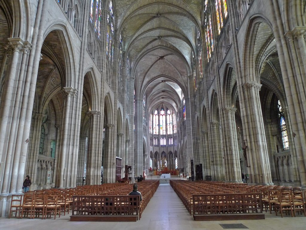 Majestic Gothic Cathedral Interior Royalty Free Stock Picture Source Church Ideas