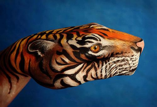 2061222433 9a84b64d65 Breath Taking Body Painting Art