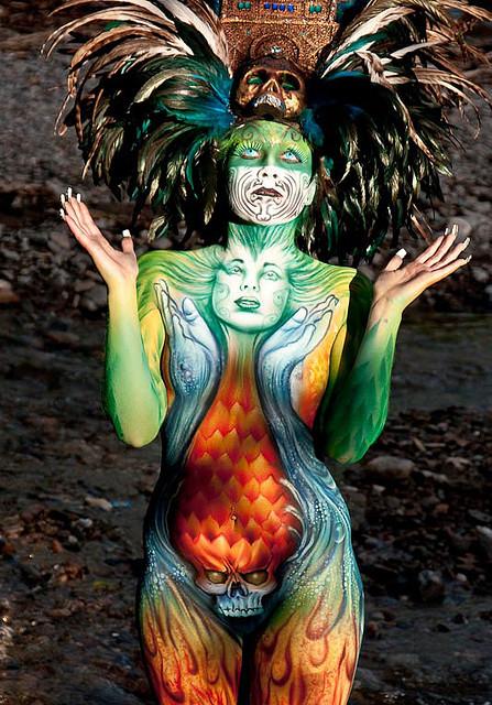 4332244161 dacb209a6b z1 Breath Taking Body Painting Art