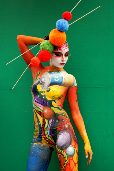 4332300297 6d18a8be79 o Breath Taking Body Painting Art