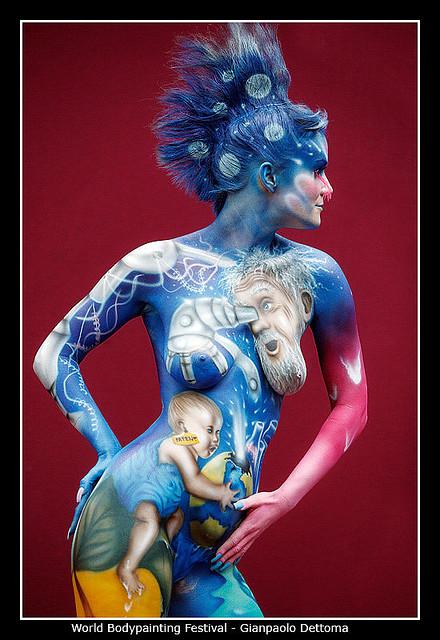 4332337777 9cae702619 z Breath Taking Body Painting Art