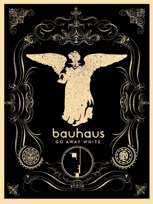 bauhaus poster final The Influence of Art History on Modern Design   Gothic Style