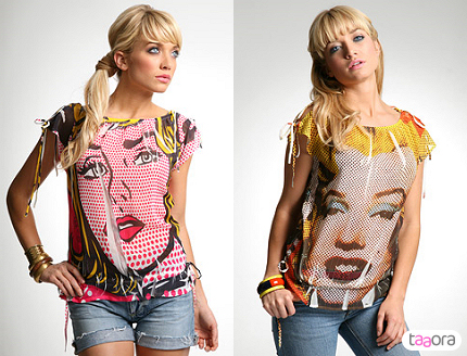 0810211 t shirts serigraphies pop art marilyn monroe The Influence of Art History on Modern Design   Pop Art
