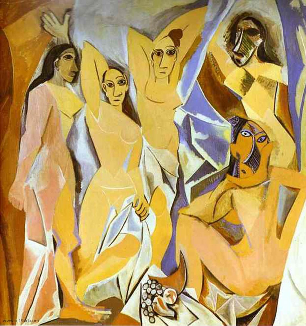 1907 Les demoiselles d'Avignon 2