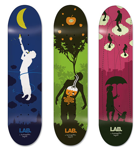 22 Design on Wheels   100+ Seriously Awesome Skateboard Prints