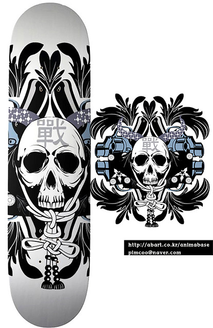 3419209063 9e7f3b91b5 z Design on Wheels   100+ Seriously Awesome Skateboard Prints
