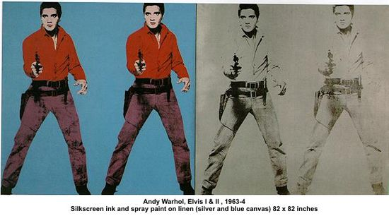 Andy Warhol Elvis I II The Influence of Art History on Modern Design   Pop Art