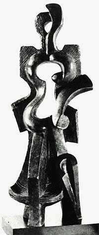 Archipenko Woman Walking 1912 The Influence of Art History on Modern Design   Cubism