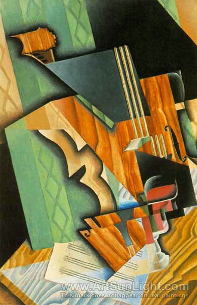 N G0003 201 violin and glass The Influence of Art History on Modern Design   Cubism