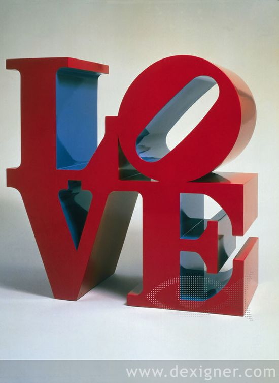 Robert Indiana LOVE The Influence of Art History on Modern Design   Pop Art