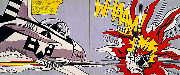 Roy Lichtenstein Whaam The Influence of Art History on Modern Design   Pop Art