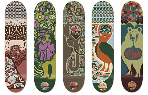 alienworkshop decks1 Design on Wheels   100+ Seriously Awesome Skateboard Prints