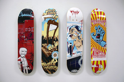 flickr skate Design on Wheels   100+ Seriously Awesome Skateboard Prints