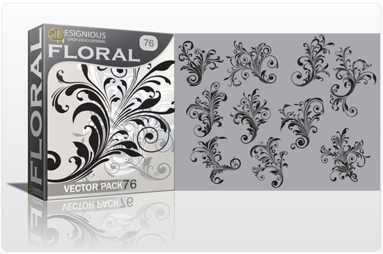 floral 76 prev 1 Fresh Vector Packs from Designious.com