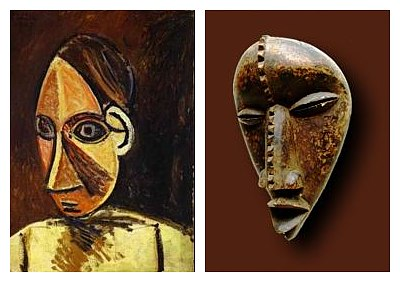 head of a woman The Influence of Art History on Modern Design   Cubism