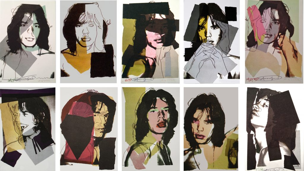 mick-jagger-by-andy-warhol