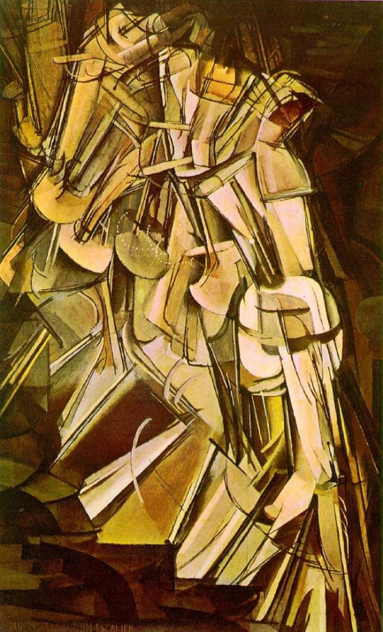 nude2 550x907 The Influence of Art History on Modern Design   Cubism