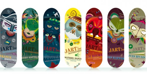 skate board design 18 Design on Wheels   100+ Seriously Awesome Skateboard Prints
