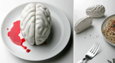 brains salt and pepper shaker 35+ Creative and Funny Salt and Pepper Shakers