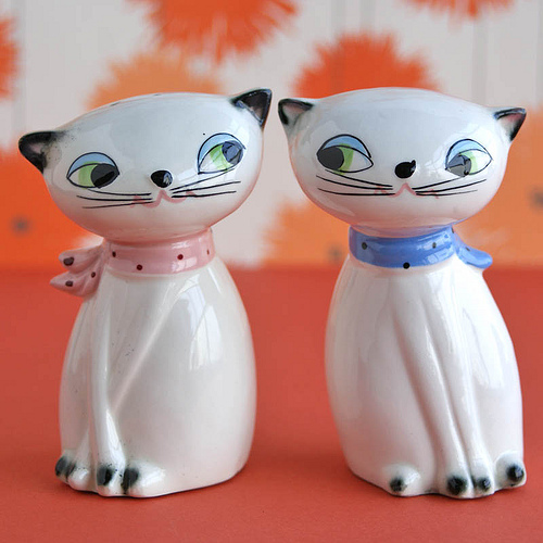 cats salt and pepper shaker design 35+ Creative and Funny Salt and Pepper Shakers