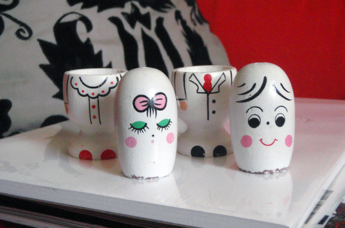 dolls salt and pepper shakers designs 35+ Creative and Funny Salt and Pepper Shakers