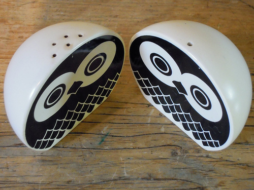 owls salt and pepper shakers 35+ Creative and Funny Salt and Pepper Shakers