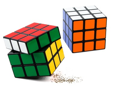 rubik salt and pepper shakers 35+ Creative and Funny Salt and Pepper Shakers